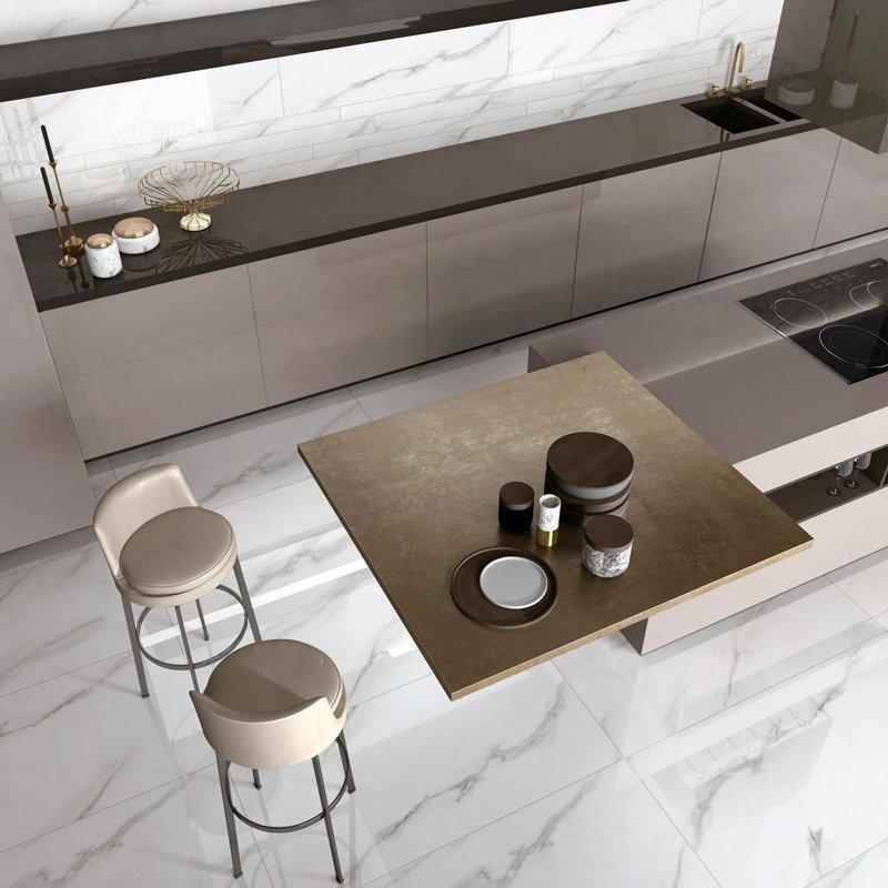 MARBLE TILES Full body Marble tiles 60X120 VDLS1261314YJT Carrara White