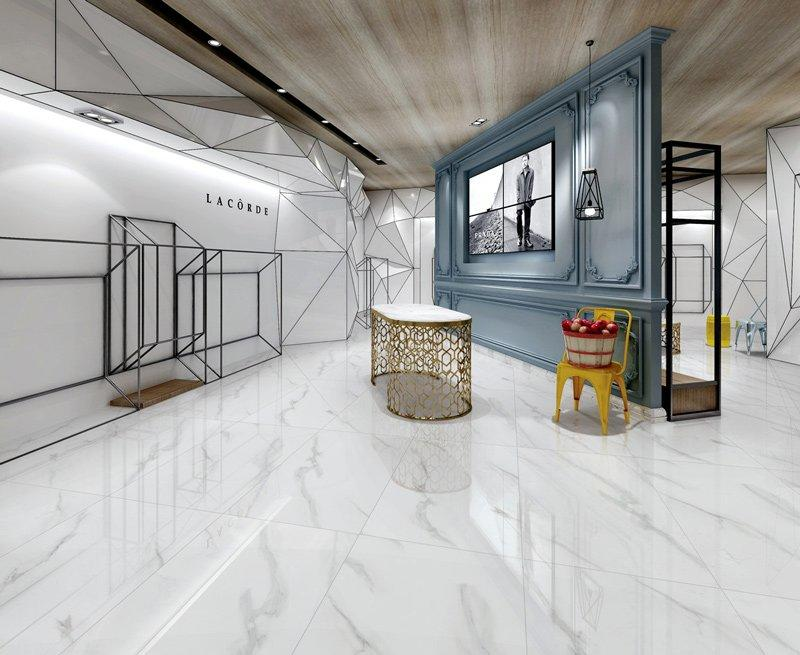 MARBLE TILES Full body Marble tiles 60X120 VDLS1261314YJT Carrara White