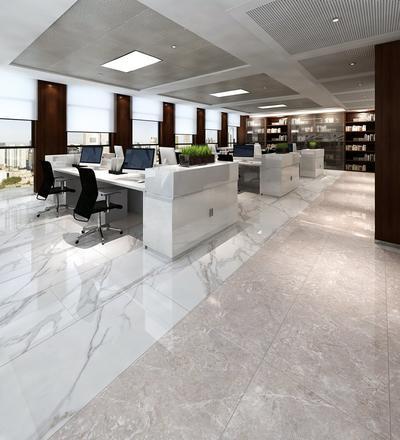 MARBLE TILES Full body Marble tiles 60X120 VDLS1261406YJT Carrara-White