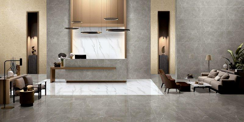 MARBLE TILES Full body Marble tiles 60X120 VDLS1261320YJT   Dammam Grey