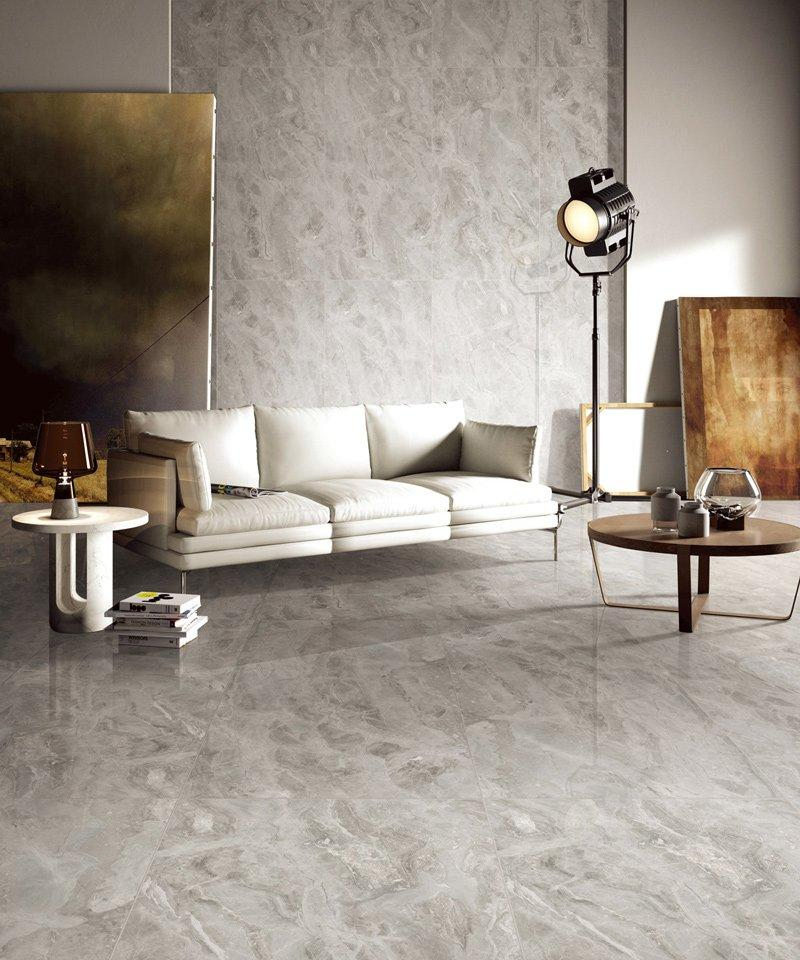 Hyatt  Grey MARBLE TILES Full body Marble tiles    VDLS1261720YJT   60X120cm/24x48'