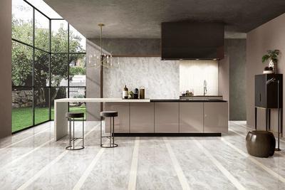 Hyatt  Grey MARBLE TILES Full body Marble tiles    VDLS1261720YJT   60X120cm/24x48'