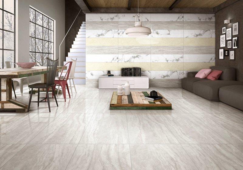 Italian Travertine  Full body Marble tiles   VDLS1261790YJT  60X120cm/24x48'