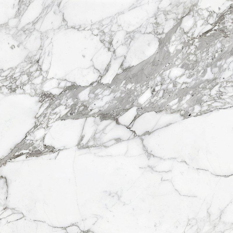 Calacata white Unglazed inkjet polished porcelain tiles  80x80cm/32x32'