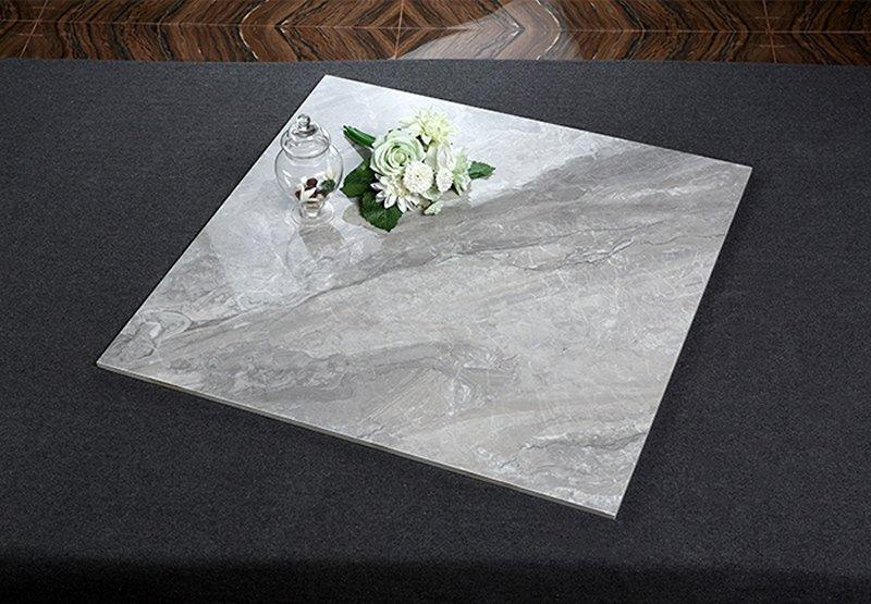 Grey Venice Unglazed inkjet polished porcelain tiles   80x80cm/32x32'