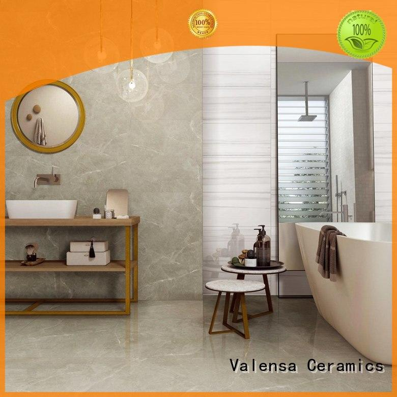 Valensa Ceramics Latest glazed tiles price factory for villas