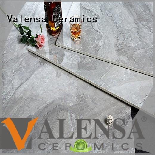 Valensa Ceramics safety polished porcelain floor tiles customized for home