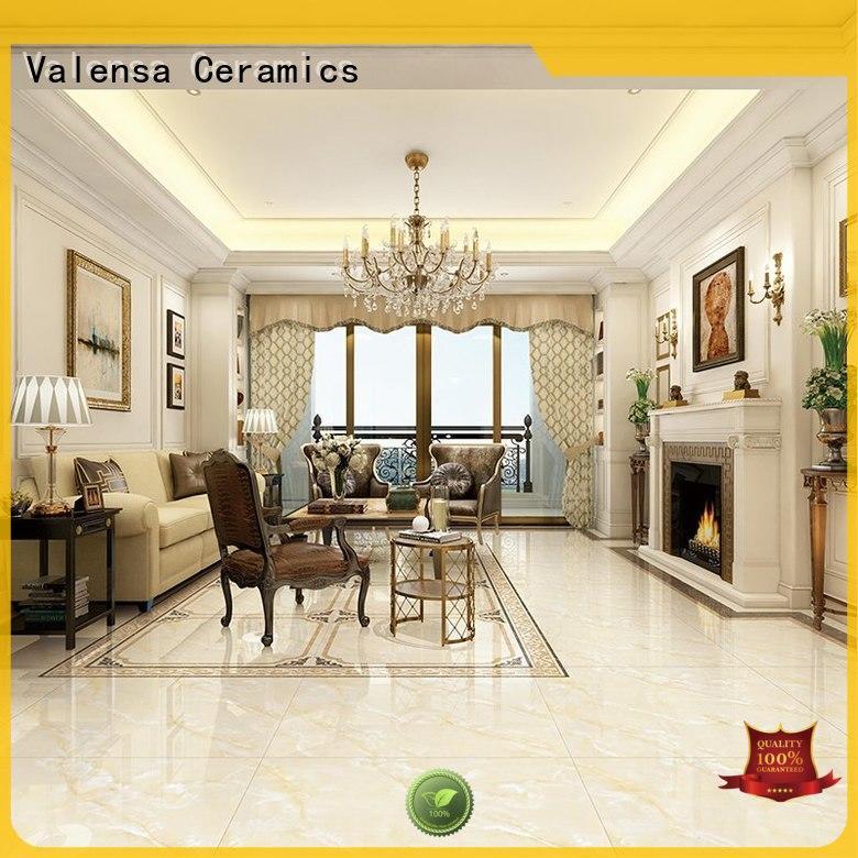 Valensa Ceramics Wholesale white marble tiles company for villas