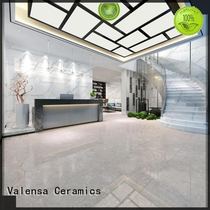 Valensa Ceramics pupes white porcelain floor tiles company for villas