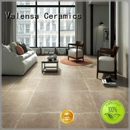Valensa Ceramics Best white porcelain floor tiles supply for house