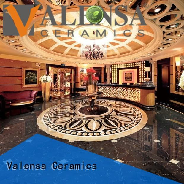 Valensa Ceramics Wholesale dark emperador marble tiles suppliers for indoor
