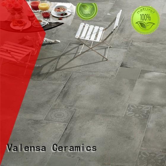 Valensa Ceramics Best polished concrete tiles manufacturers for villas