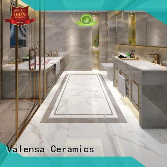 Valensa Ceramics Custom grey porcelain floor tiles supply for house