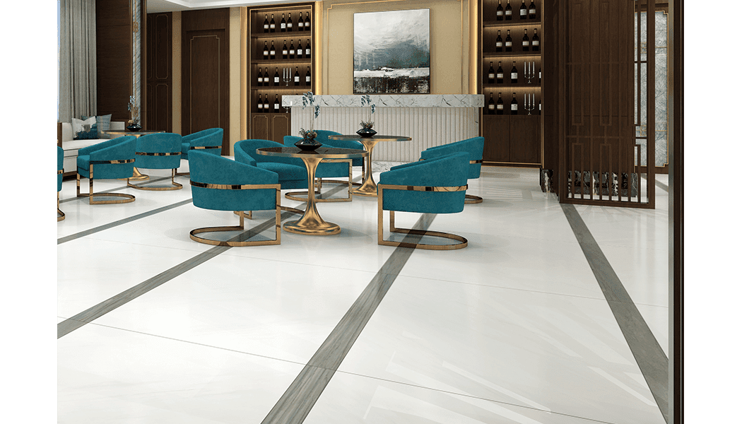 Carrara white apartment tiles Marble tiles  Full polished marble tiles 60x60 80x80cm/24x24' 32x32'