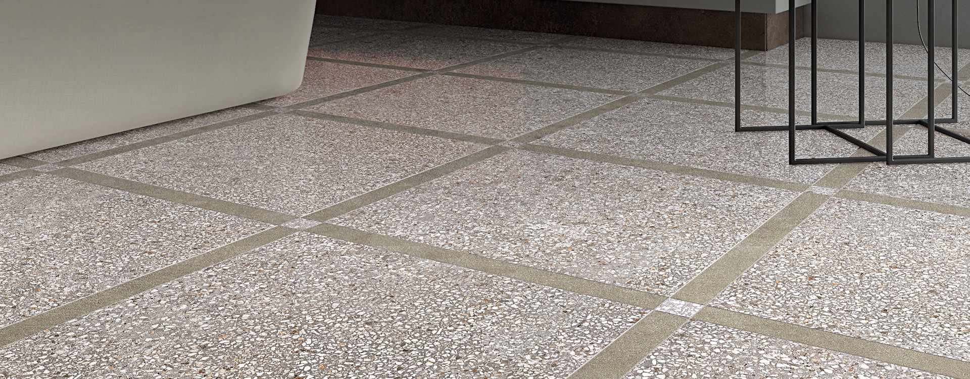High Quality Terrazzo Look Porcelain Tile From Valensa Ceramics