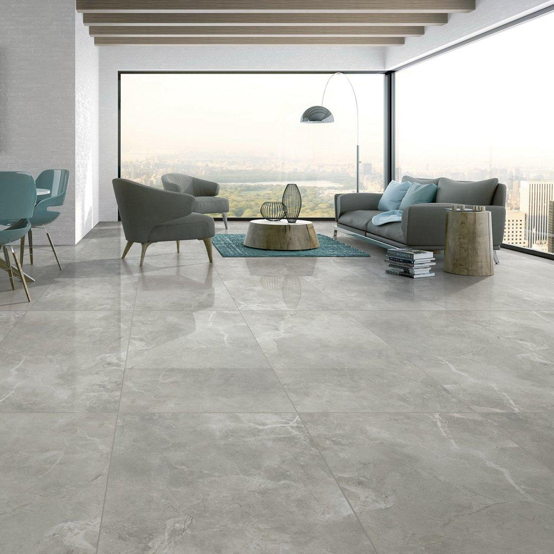 Pupes light grey Full body Marble tiles   VDLS1261390YJT  60X120cm/24x48'