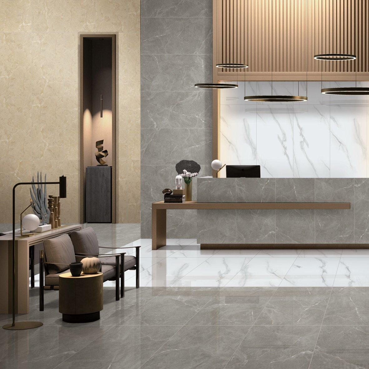 Dammam Grey Full body Marble tiles 60X120  VDLS1261320YJT   60X120cm/24x48'