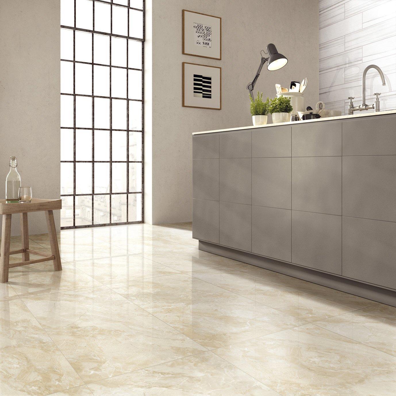 Carters Beige Full body porcelain Marble tiles  VDLS1261733YJT 60x120cm/24x48'