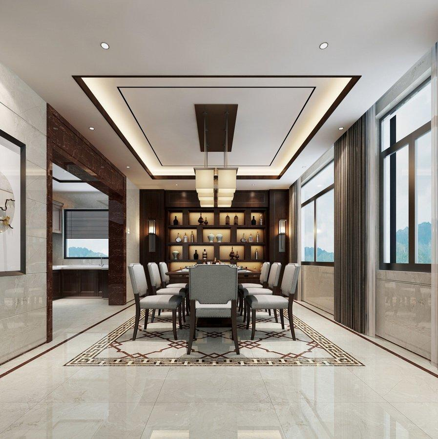 Caesar Gray  Full body wall  Marble tiles    VDLS88222YJ  80X80CM/32x32'
