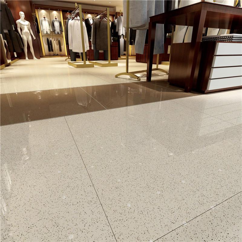 Light gray full body Polished  Spots tiles    VBDT001  60X60CM/24X24'