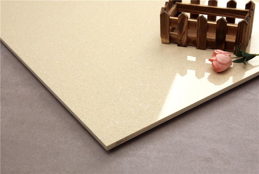 Beige full body of Polished  tiles  Spots series  VDBKL023T 60x60cm/24x24'