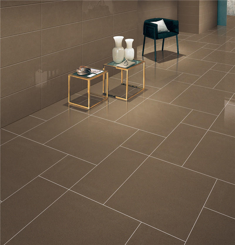 Coffee full body Polished floor tiles  VBDT006C 60x60cm/24x24'