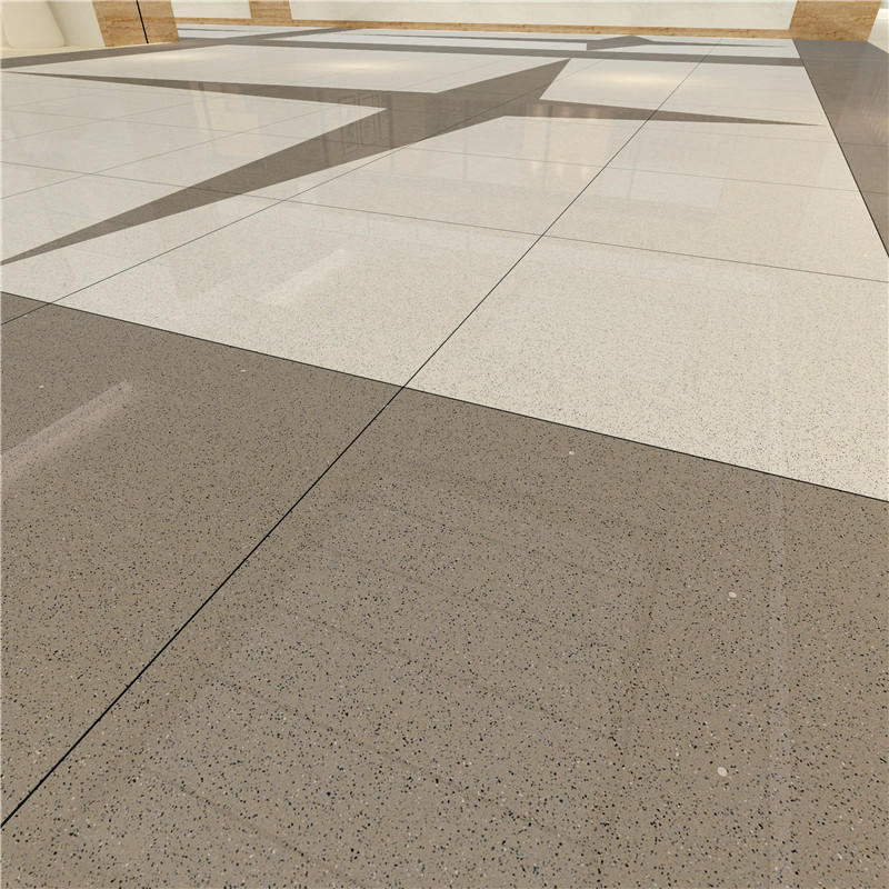 Gray full body of Polished Spots tiles   VBDT005C  60x60cm/24x24