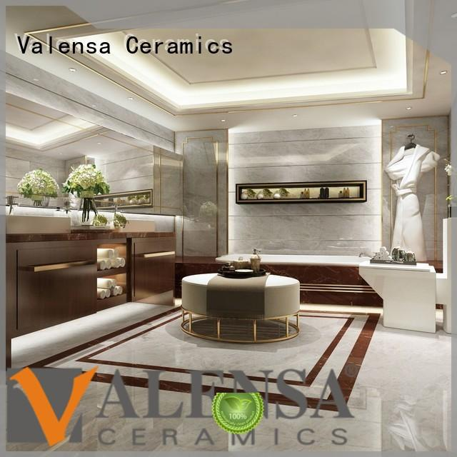 Valensa Ceramics Custom marble tile countertop supply for home