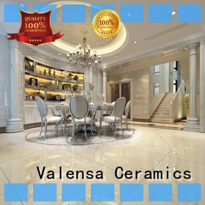 Valensa Ceramics Custom white marble floor tiles suppliers for house