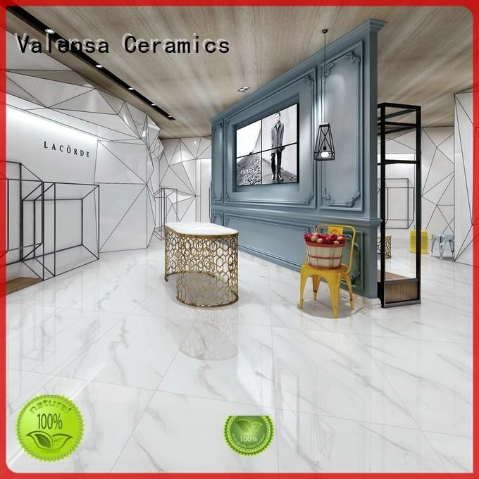 Valensa Ceramics white glazed tiles price manufacturers for house