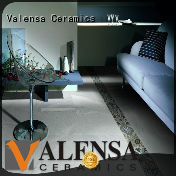 Valensa Ceramics Top porcelain stone tile manufacturers for indoor