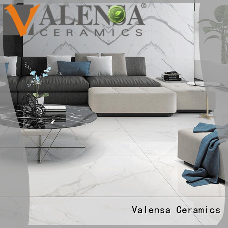 Valensa Ceramics experienced carrara marble porcelain tile supplier for villas