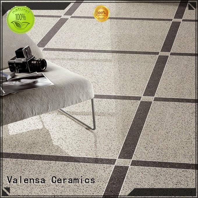 Valensa Ceramics high quality high gloss porcelain floor tile supplier for villas