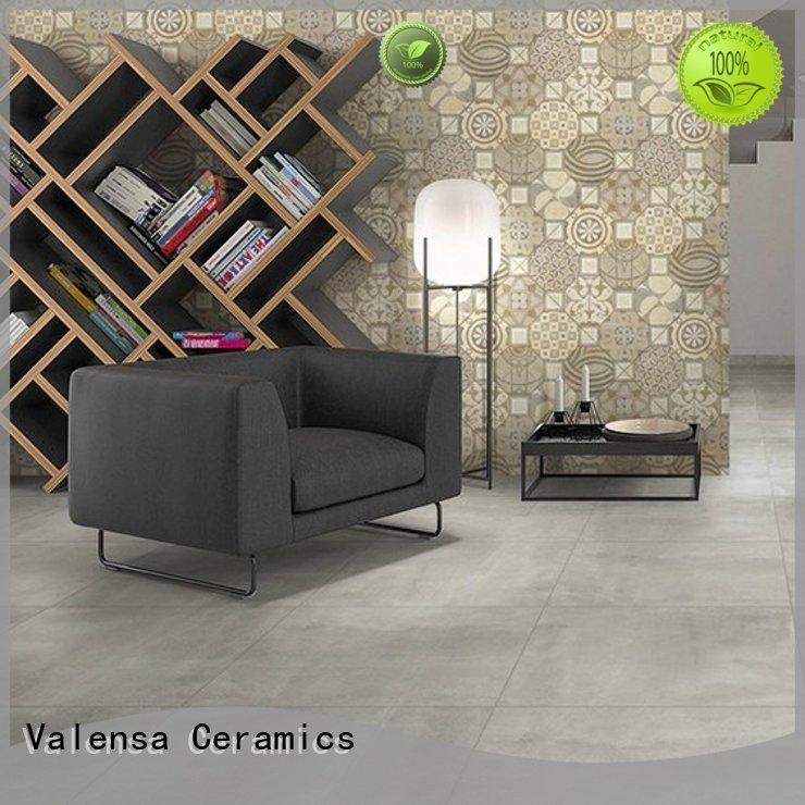 Valensa Ceramics Custom polished concrete floor tiles for business for house
