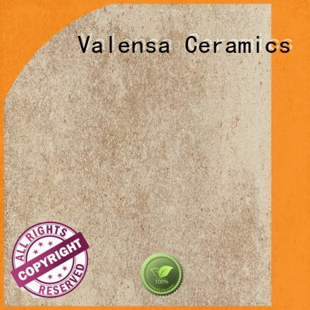 Valensa Ceramics Brand garden matt custom porcelain rustic tile