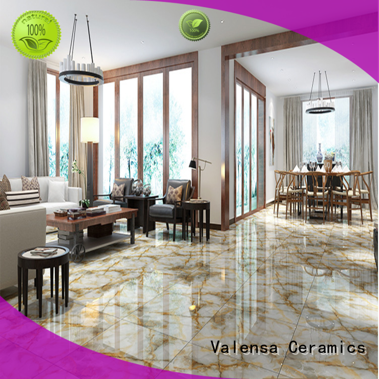 Valensa Ceramics marble porcelain marble tile factory for indoor