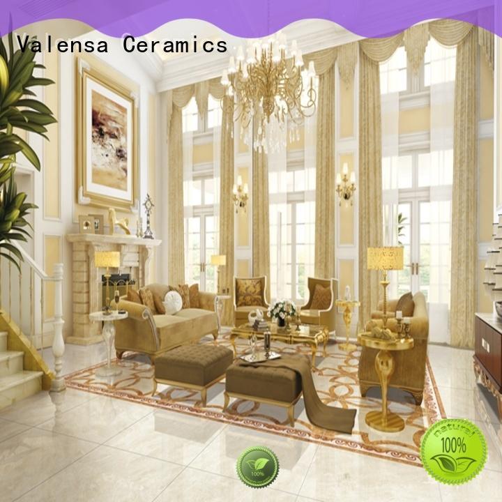 Valensa Ceramics tiles polished porcelain floor tiles supplier for home