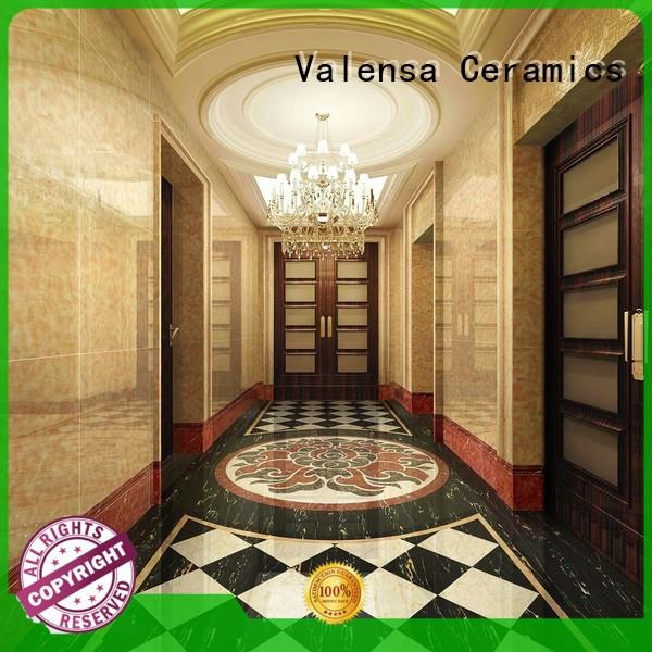 Valensa Ceramics marble dark marble floor for business for indoor