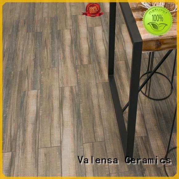 Valensa Ceramics Top wood porcelain tile bathroom supply for home