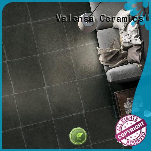 Valensa Ceramics half white porcelain floor tiles suppliers for house