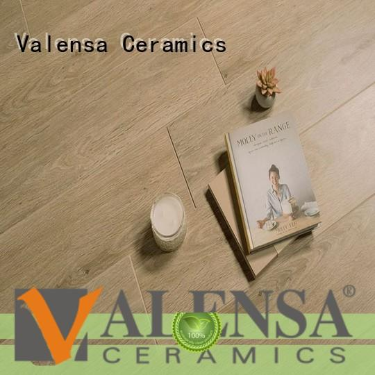 High-quality white wood look porcelain tile wooden suppliers for house