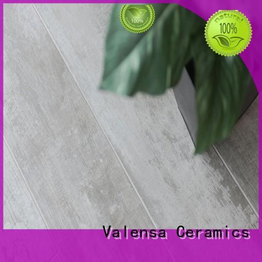 Valensa Ceramics New grey porcelain wood tile suppliers for villas