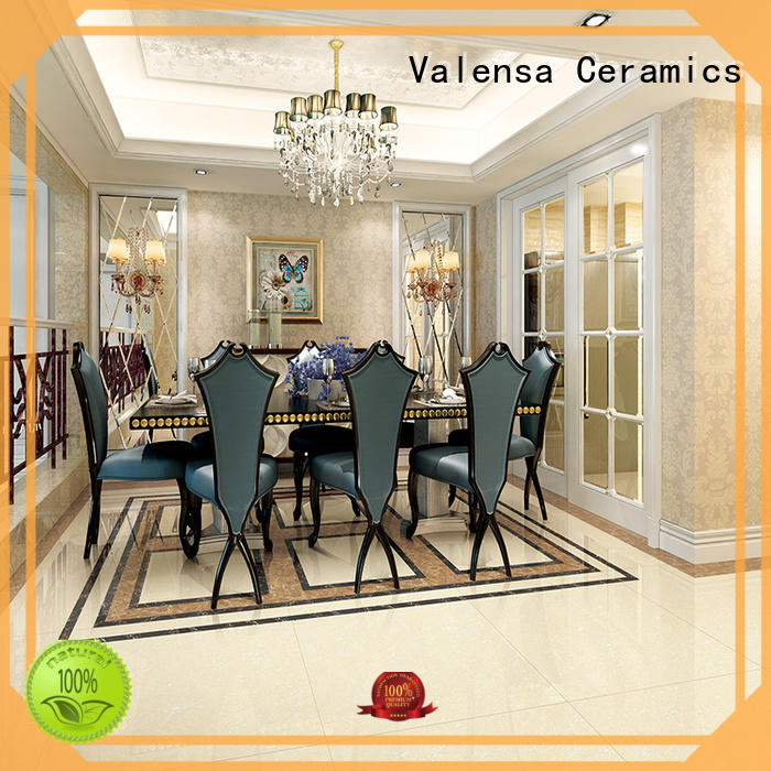 Valensa Ceramics porcelain black sparkle floor tiles for business for villas