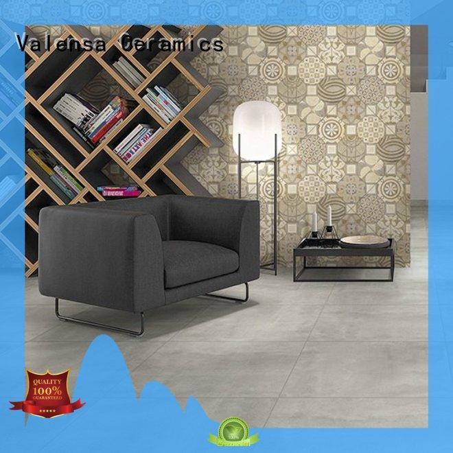 Valensa Ceramics tile polished concrete floor tiles factory for house