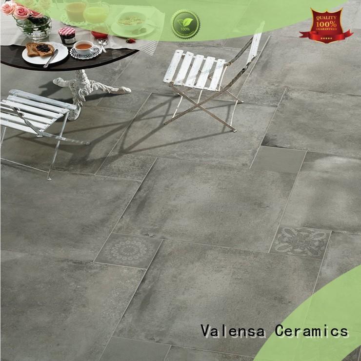 Valensa Ceramics porcelain polished concrete tiles suppliers for home