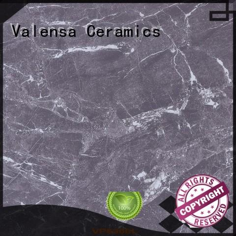 Valensa Ceramics professional dark tile bathroom customized for house