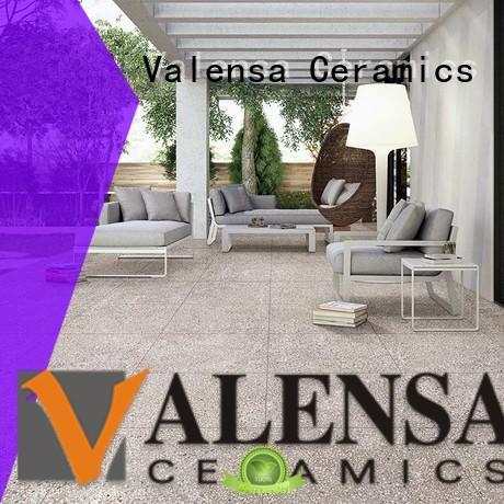 Valensa Ceramics Brand outdoor floor custom terrazzo floor tiles price