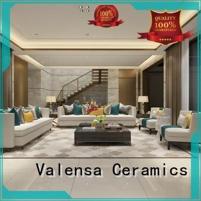 Valensa Ceramics glazed white marble tiles manufacturers for home