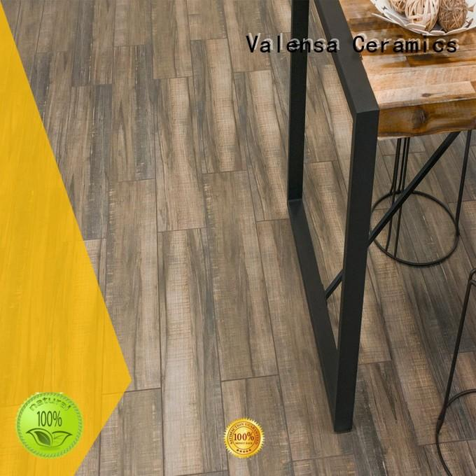 Valensa Ceramics wooden white wood look porcelain tile for business for villas