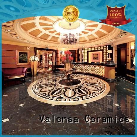 Valensa Ceramics Top dark brown floor tiles company for indoor